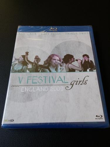 v festival girls england 2009