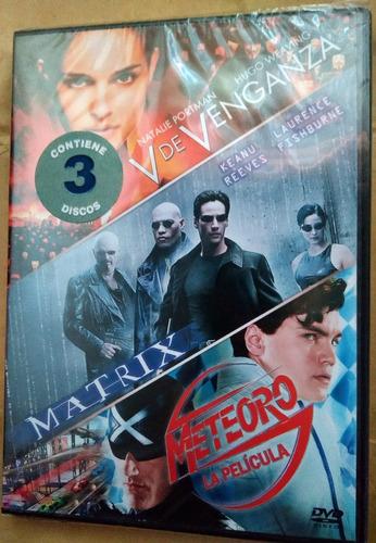 v for vendetta/matrix/meteoro:triple presentacion wachowski: