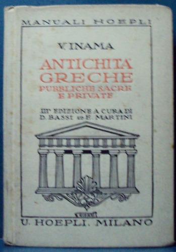 v. inama - antichita greche. pubbliche sacre e private