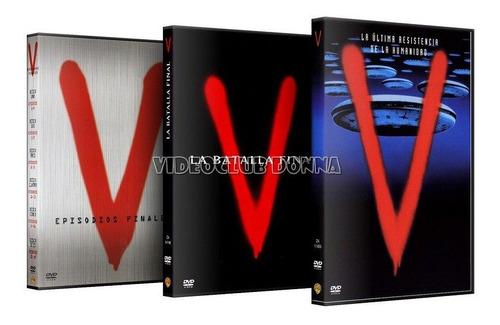 v invasion extraterrestre serie completa 1983/85 dvd latino