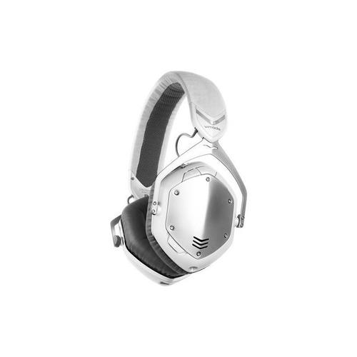 v-moda - crossfade auriculares inalámbricos - blanco / plata