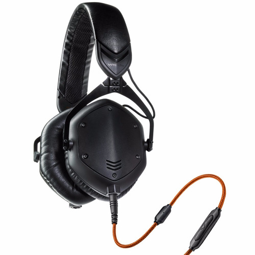 v-moda - crossfade m-100 auriculares color matte black metal