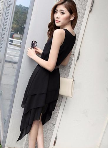 v1033 vestido negro, it girls colombia