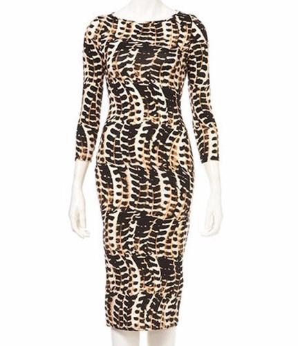 v1123 vestido animal print, it girls colombia