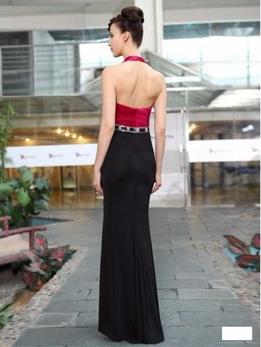 v1195 vestido de noche talla 10, ig