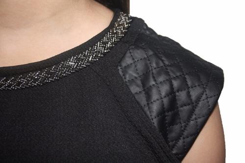 v1253 vestido negro ajustado, it girls colombia