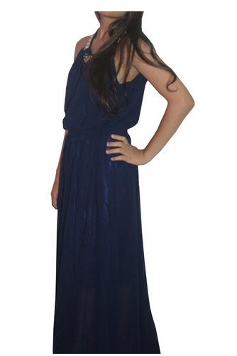 v1288 vestido largo negro - it girls colombia