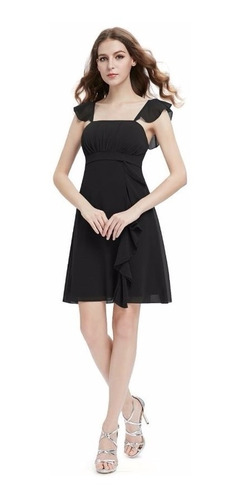 v1308 vestido casual negro, it girls colombia