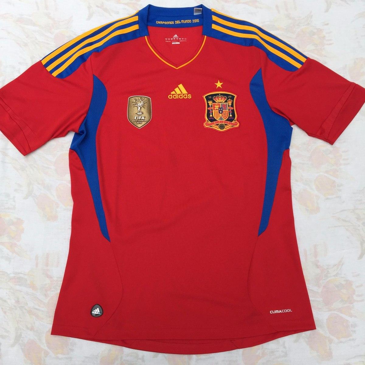 4c668ce821629 V14921 Camisa adidas Espanha Home 10 11 M Fn1608 - R  899
