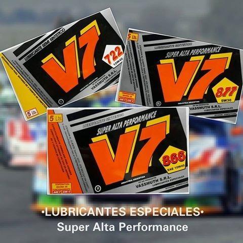 v7 aceite para vehiculos de competición