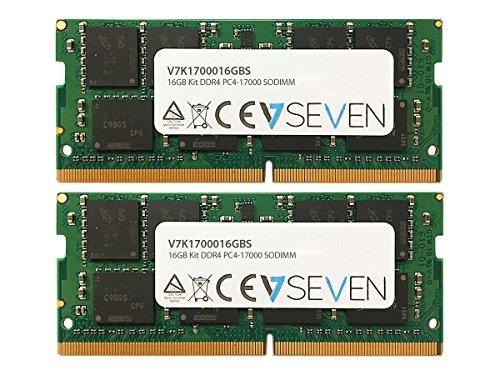 v7 ram memory 2 x 8gb ddr4 sdram (v7k1700016gbs)