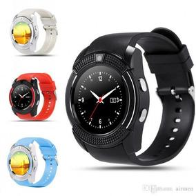 grandes ofertas super popular liquidación de venta caliente V8 Colors Smartwatch Compatible Con Ios Android Bluetooth