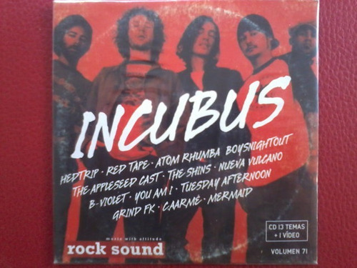 v/a: incubus, hedtrip, red tape, atom rhumba, the sins etc..