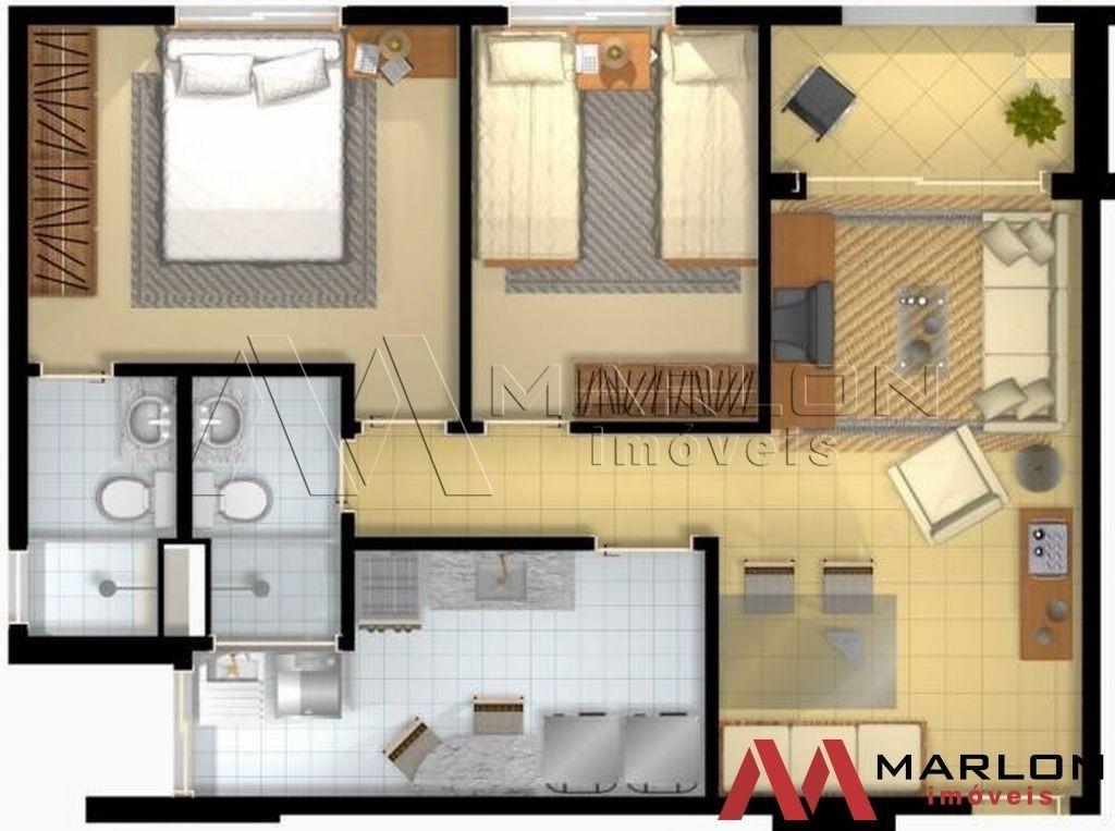 va00813; apartamento em candelária