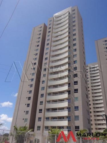 va02116: apartamento natture, com 3/4 sendo 1 suíte e 75m²
