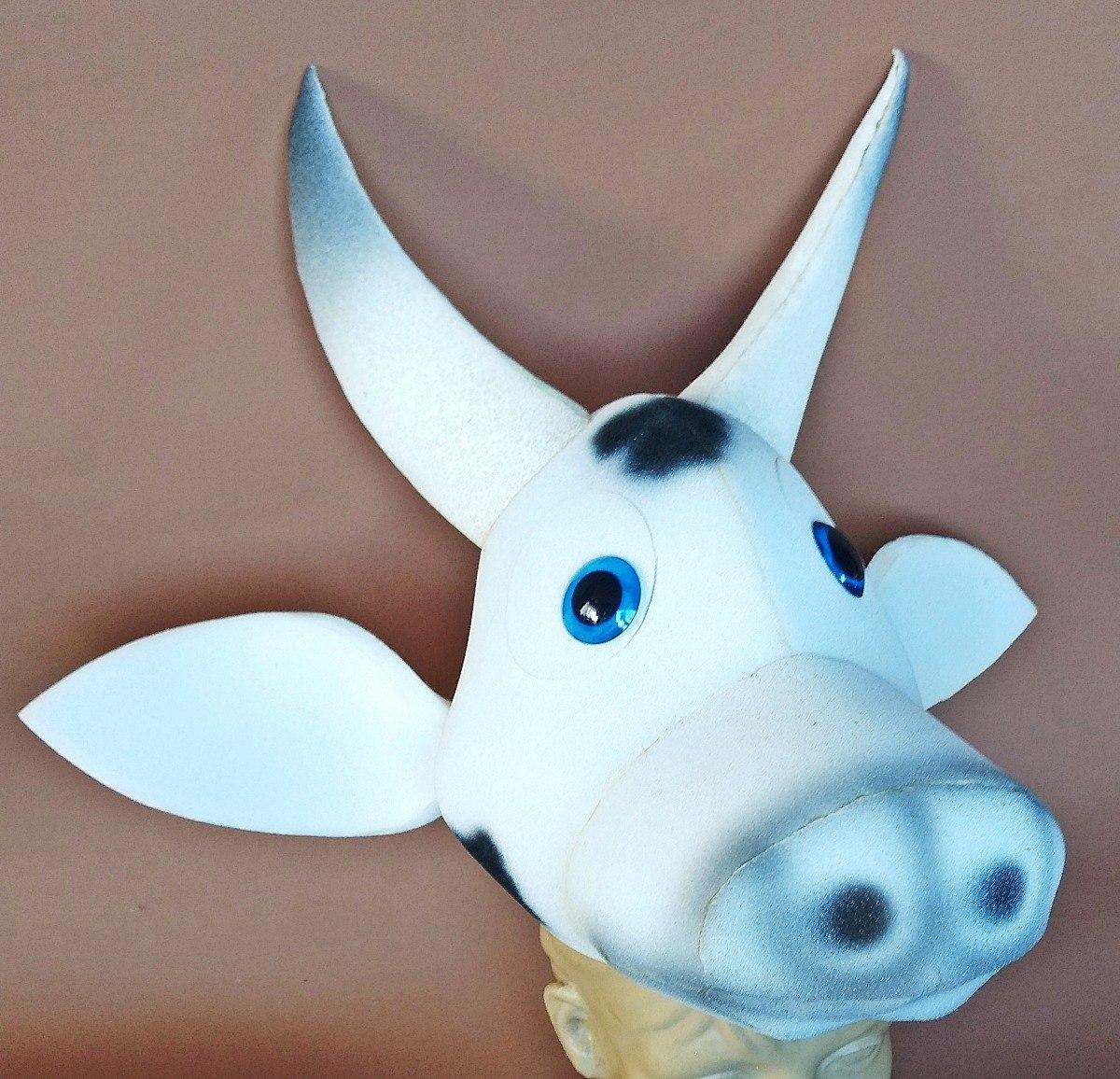 Vaca Chapéu Em Espuma 74bef4ea08e