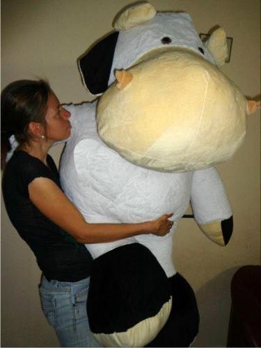 vaca gigante  peluche 145 cms  + envio  gratis  / osos