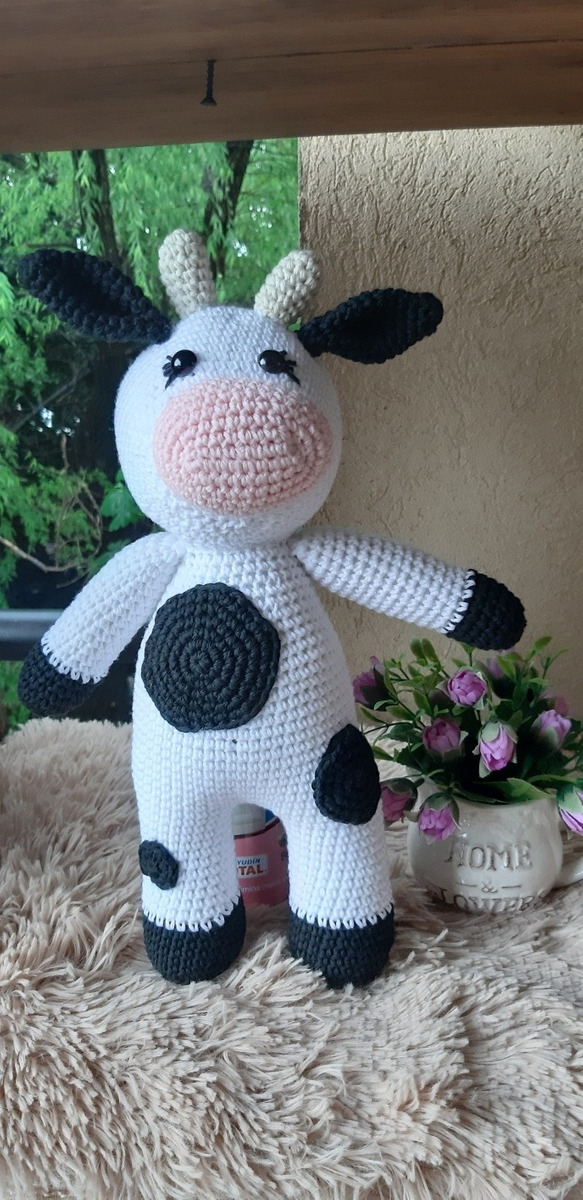 Mucca Uncinetto - Amigurumi Tutorial- Cow Crochet - Vaca Croche ... | 1200x583