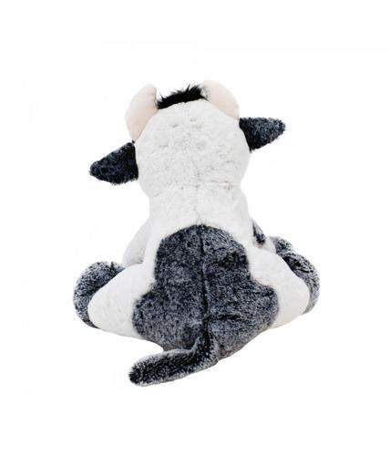 vaca sentada 34 cm - pelúcia