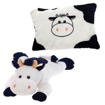 vaca transformable en almohada de peluche y felpa fiesta toy