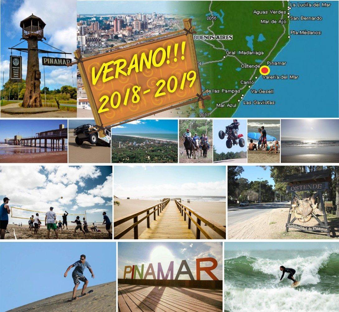 vacaciones 2019 - 2020, alquiler pinamar - ostende !!!