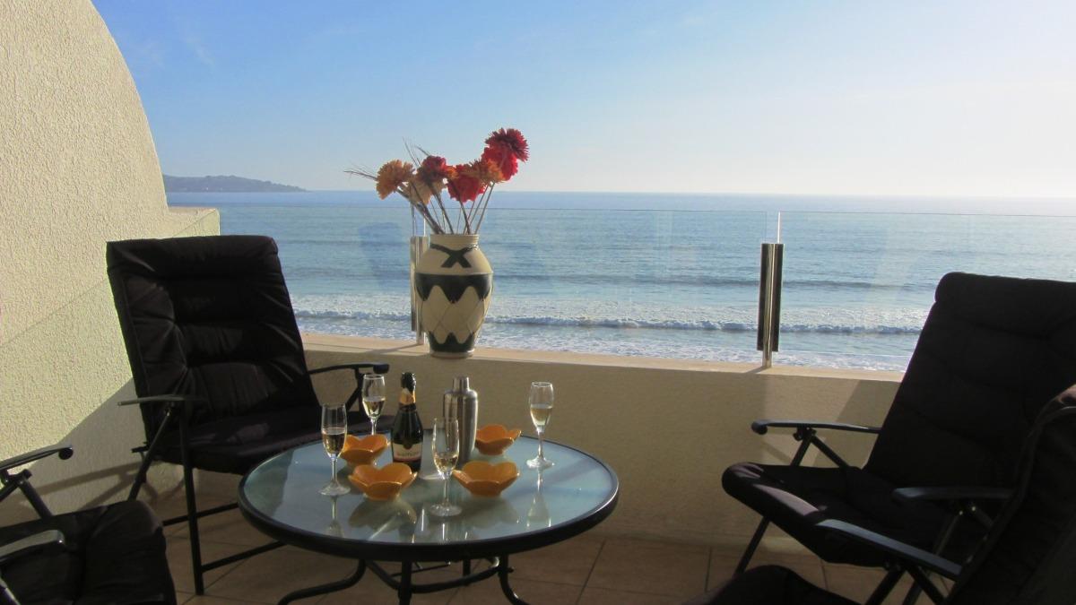 vacaciones la serena oceanic frente al mar con wifi