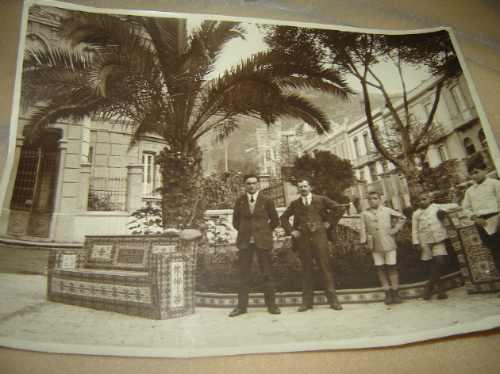 vacaciones paseo en españa 1930 fotografia antigua