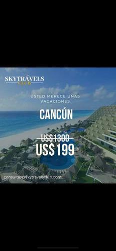 vacaciones soñadas en cancún + desayunos incluidos!