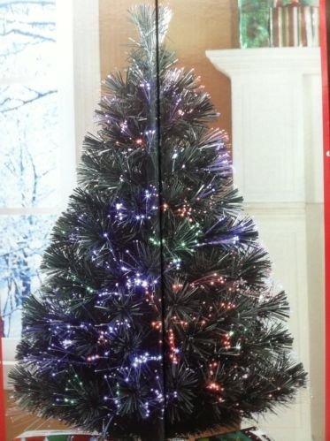 vacaciones tiempo 32 pulgadas fibra óptica navidad árbol