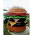 vacas plasticas  , panchos, helado hamburguesa, etc