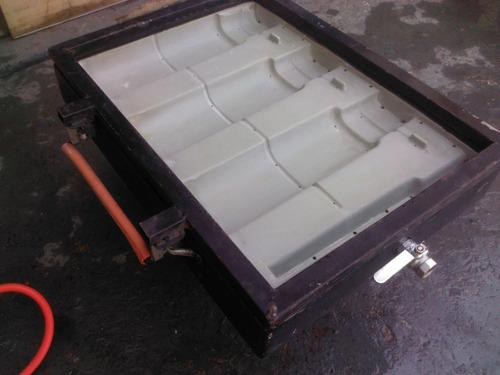 vaccun forming jogo 03 moldes telhas