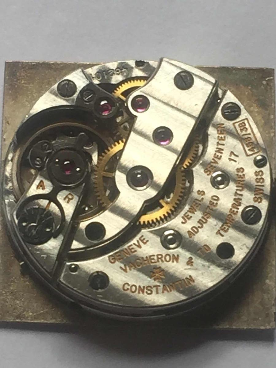 debe8c6332f vacheron constantin maquina de relogio de pulso. Carregando zoom.