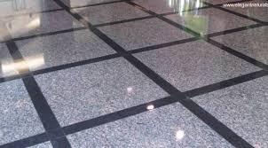 vaciado, emplomado, y cristalizado de piso de granito