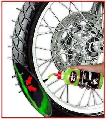vacina de pneu de motos scooters bicicleta anti furo selante r 35 00 em mercado livre. Black Bedroom Furniture Sets. Home Design Ideas