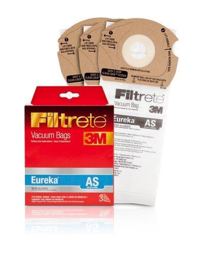 vacío filtrete eureka como micro alérgenos bolsa, 3 pack