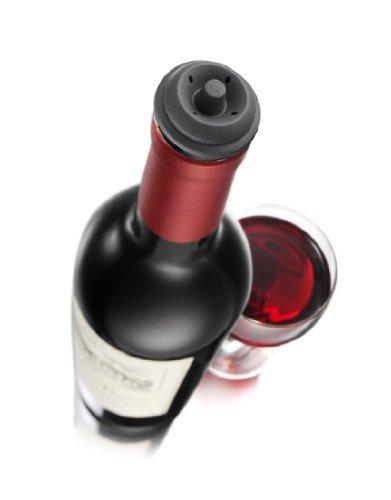 vacu vin ahorrador del vino tapones extra, juego de 4
