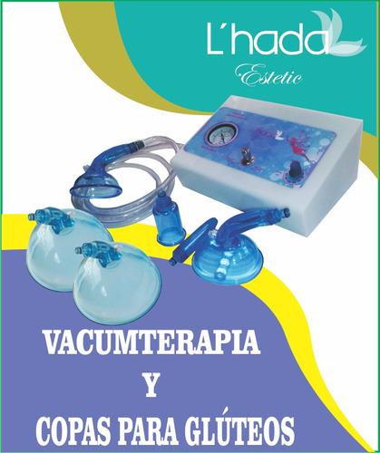 vacumterapia copas corporales faciales y gluteos profesional