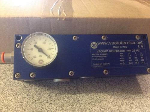 vacuum generador pvp 25 mx (vuototecnica)