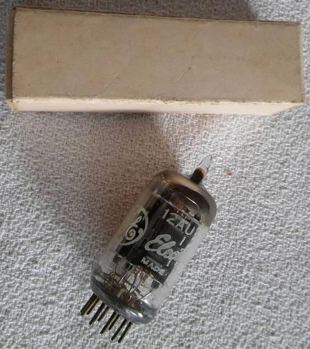 vacuum tube valvula electronica 12au7 ge usa subte b