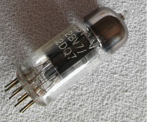 vacuum tube valvula electronica 12by7a / 12bv7 / 12dq7 g e