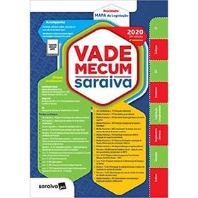 Vade Mecum Saraiva 30ª Edição 2020 - 2º Semestre