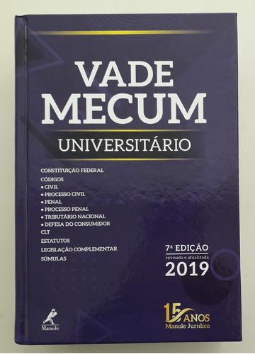 vade mecum universitário 2019