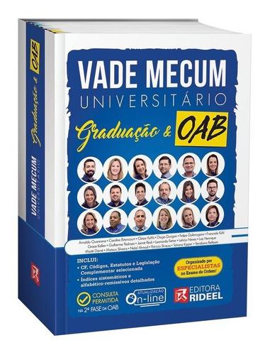 vade mecum universitário graduação e oab - 1ª edição