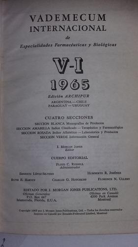 vademecum internacional 1965