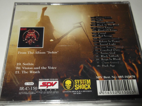 vader cd live in japan hypocrisy nile krisium death dist0