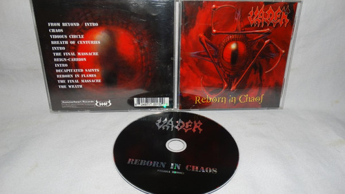 vader ~ reborn in chaos (hammerhearts records)