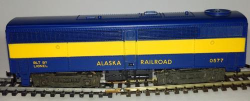 vagón cerrado alaska railroad 0577 - lionel (usa) posguerra