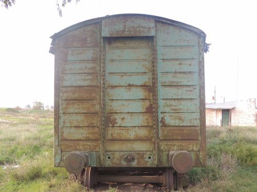 vagon ideal para reciclar / sin boguies y paragolpes