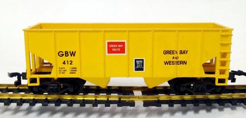 vagon tolva green bay and western - h0 1/87