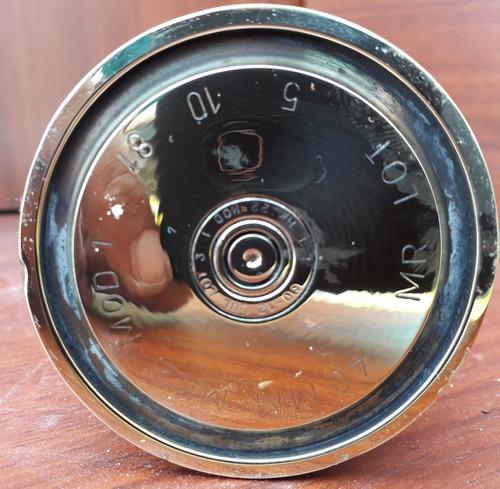 vaina inerte cañón de artillería 40 mm bronce